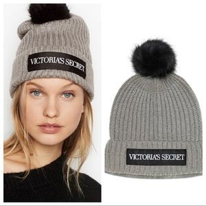 Victoria secret  Pom Pom hat